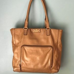 Kate Spade Outlet brown leather bag